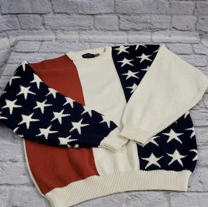 Old Glory Patriotic Sweater